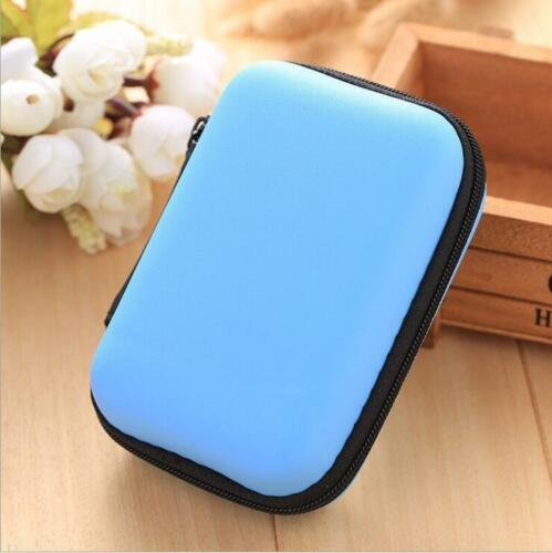 Carrying Case Bag Storage Box EVA Hard for USB Cable Charger  Earphone MP3 Coin