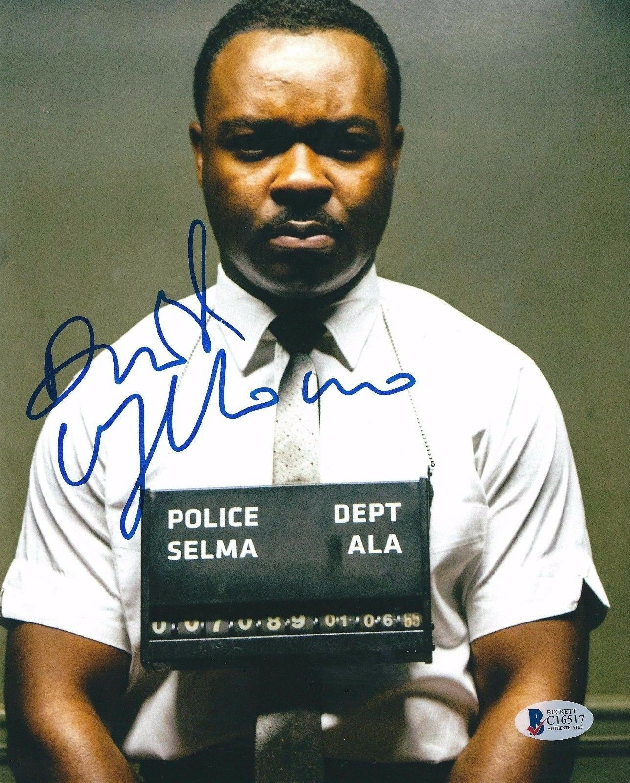 David Oyelowo Signed 8x10 Photo *Jack Reacher *Selma Beckett BAS C16517