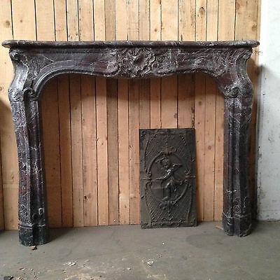 cheminee louis xv cheminee ancienne cheminee marbre fireplace ebay