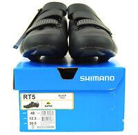 Shimano 2017 Sh-rt500 Road Bike Shoes, Black, Us 12.3 / Eu 48