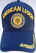 American Legion Insignia Cap/ Hat w/Shadow Blue Military**Free Shipping**