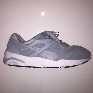 Puma Trinomic R698 Core Leather Men Trainers Running Shoes Size 11 ... 8bf4ed0d9