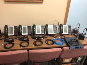 Mitel 5330e VOIP Phone Lot(5)