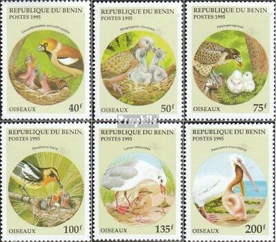 Never Hinged 1995 Birds Delicious In Taste Stamps Shop For Cheap Benin 685-690 Unmounted Mint
