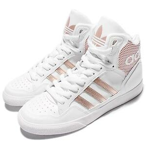 adidas rose gold high tops