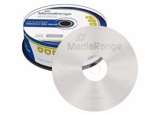 25-MediaRange-Marca-Cd-r-en-blanco-discos-48x-100-Min-Cd-R-900mb-100-minutos-mr222