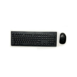 Wireless Keyboard & Mouse Combo - Light weight & Efficient Battery Life - BLACK