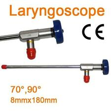 NEW Endoscope ø8x180mm Laryngoscope Compatible Storz Stryker Olympus Wolf