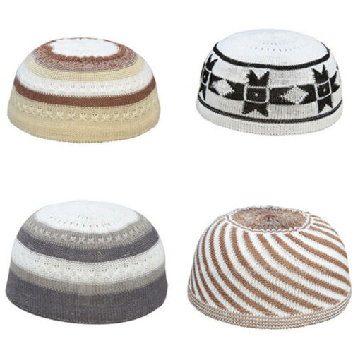 Fashion Accessories Beanie Cap  Head Wear  Islamic Prayer  Men Muslim Hat