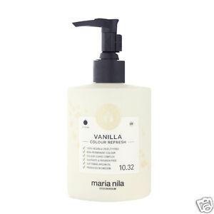 Maria Nila Colour Refresh Haarmaske mit Farbpigmenten Vanilla 300 ml