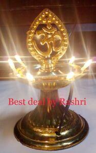 1-Layer-Electric-Gold-Diya-Rice-Light-Lamp-Diwali-Navratra-Home-Decoration