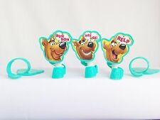 12 Scooby Doo Ruh Roh Rings Cupcake Toppers Decorations Party Favors