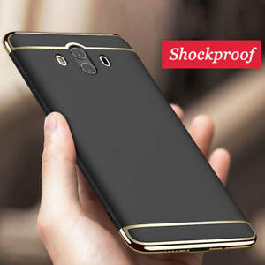 buy popular 206cc 1a263 For Huawei Mate 10 Lite/Pro Luxury Slim Electroplate Hard Hybrid ...