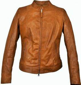 giacca imbottitar donna vera pelle