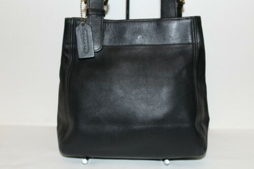 Vintage Coach Waverly Bucket Tote Bag #4157