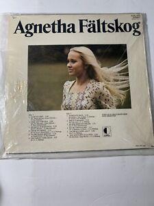 RARE-USED-LP-VINYL-RECORD-Agnetha-Faltskog-Self-titled-Vinyl-Record-in-Swedish