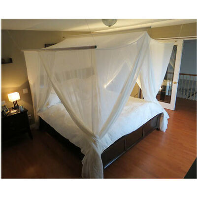 RF Shielding Bed Canopy - Swiss Shield Naturell