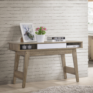 Console-Hallway-Table-Entry-Display-Drawer-Scandinavian-Two-Tone-Oak-Wood-White