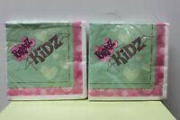 2-set Bratz Kidz Beverage Napkins Small Paper Birthday Girls Cocktail Child