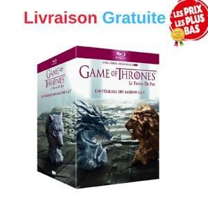 Game-of-Thrones-Le-Trone-de-Fer-L-039-integrale-des-Saisons-1-a-7-DVD-Langue-EN-FR