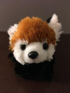 """Wild Republic 12"""" Lesser Red Panda Plush Stuffed Animal Toy Brown Black White"""