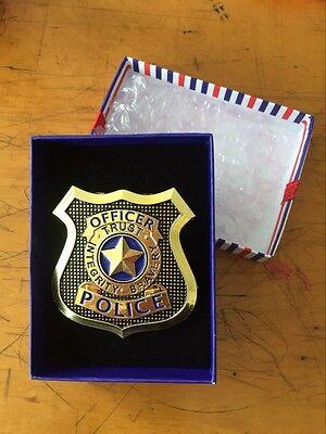 "Zootopia Zootropolis rabbit Judy Hopps Cosplay METAL ""police officer"" Badge"
