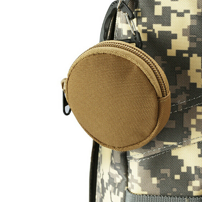 1pc 900D Tactical Wallet Pouch Portable Key Coin Purse With Hook Earphone Bag_DS