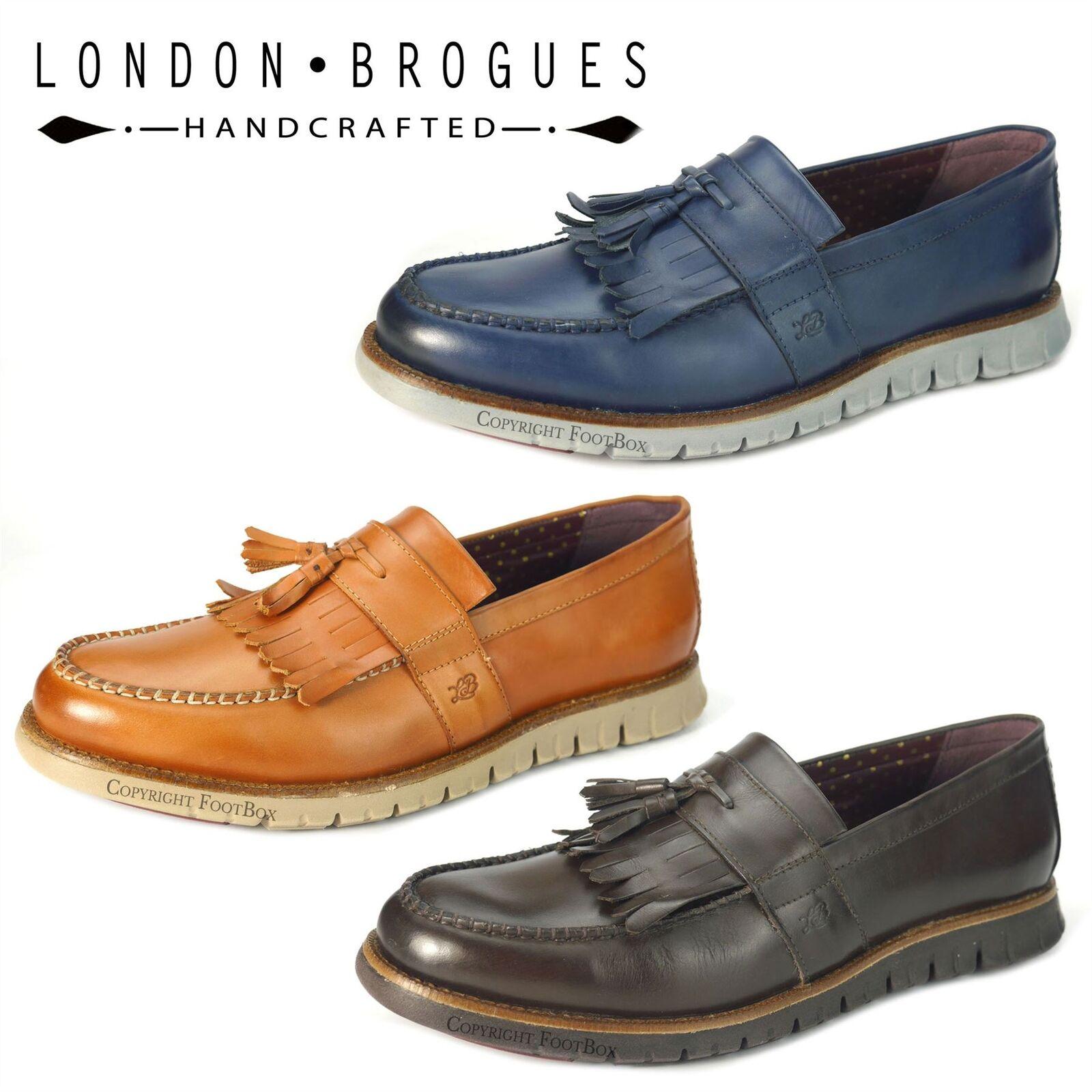economico London Brogues GATZ Mocassino Cuoio Cuoio Cuoio Leggero Scarpe Da Uomo Flessibile  spedizione gratuita!