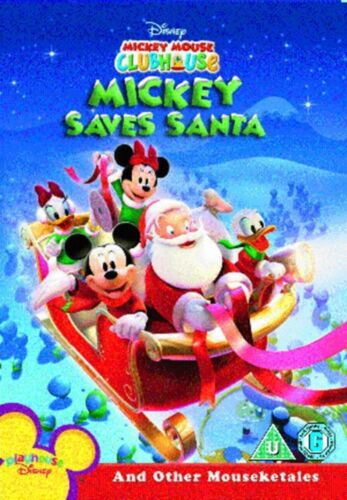 1 of 1 - Mickey Mouse Clubhouse: Mickey Saves Santa and Other Mouseketales [DVD]