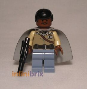 NEW LEGO Torso Lando Calrissian General Star Wars 7754 Calamari Cruiser