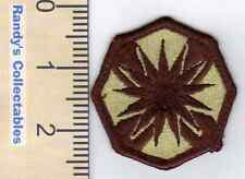 Authentic US Army 13th Corps Supt Com'd COSCOM DCU Desert Sew On Military Patch