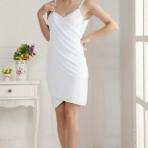 Women-Bath-Towel-Wearable-Bathrobe-Swim-Beach-SPA-Wrap-Nice-Night-Fabric-R9C5