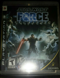 Star-Wars-The-Force-Unleashed-PS3-Mint-Condition-CIB-BLUS30144