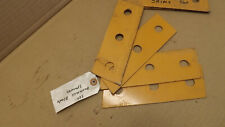 4 New Oem Case Ih 560 Trencher Backfill Blade Shims Spacers