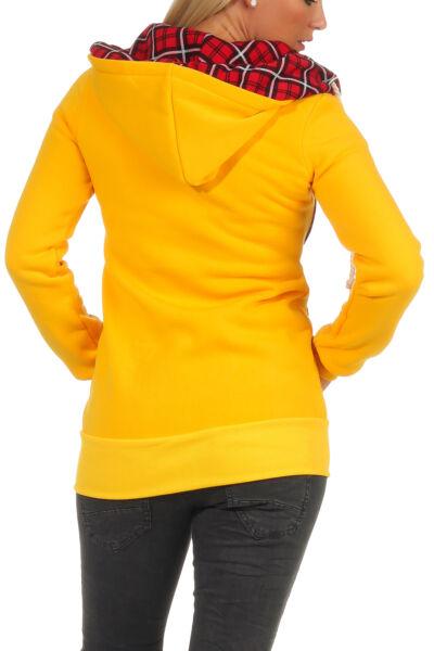 Sweatjacke Kapuzenpullover Hoodie Sweatshirt Pullover Damen Kapuze Jacke