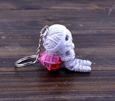 Mini voodoo doll keychain key ring love gift D4