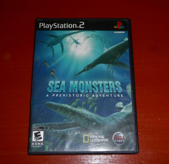 Sea Monsters: A Prehistoric Adventure (Sony PlayStation 2, 2008 PS2) -Complete