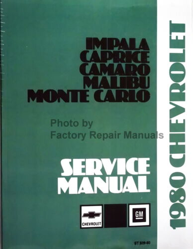 Motors Vehicle Parts & Accessories 1980 Chevy Camaro Impala Malibu ...