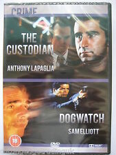 The Custodian and Dogwatch Movie Double Bill [2 x DVD] NEW SEALED Region 2 PAL