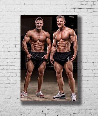 24x36 14x21 Poster Steve Cook Fitness Physique Models Bodybuilding Art Hot P2492