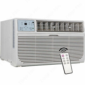 8000-BTU-Through-The-Wall-Air-Conditioner-amp-Heater-115V-AC-Cooling-Fan-TTW-Unit