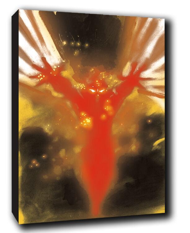 EROI, Burning MAN MAN MAN Isaac MENDEZ Pittura Tela Arte printn bdc221