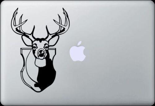 Pro or Ipad Deer Head Decal for MacBook Air