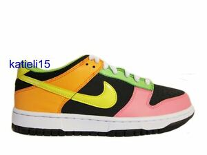 sneakers for cheap 2b671 4e637 Details about Nike Dunk Low GS Force Jordan Skittles Rainbow Air SB 6.5Y  Wmn 8