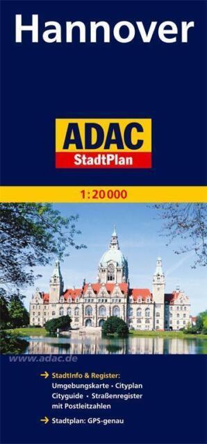 ADAC StadtPlan Hannover 1:20 000 von ADAC Kartografie