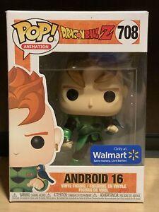 Funko Pop Android 16 706 Dragon Ball Z Dbz Walmart