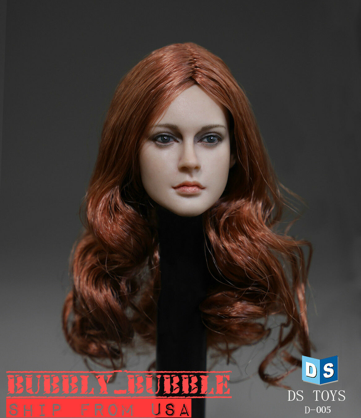 1 6 American Female Head Sculpt For 12  Phicen Hot Toys VERYCOOL Figure  USA