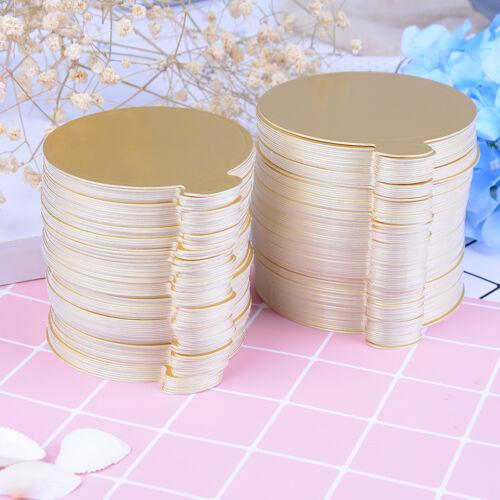 100pcs Rond Gâteau Base jetables papier Coasters pratique Cupcake Board basesrd