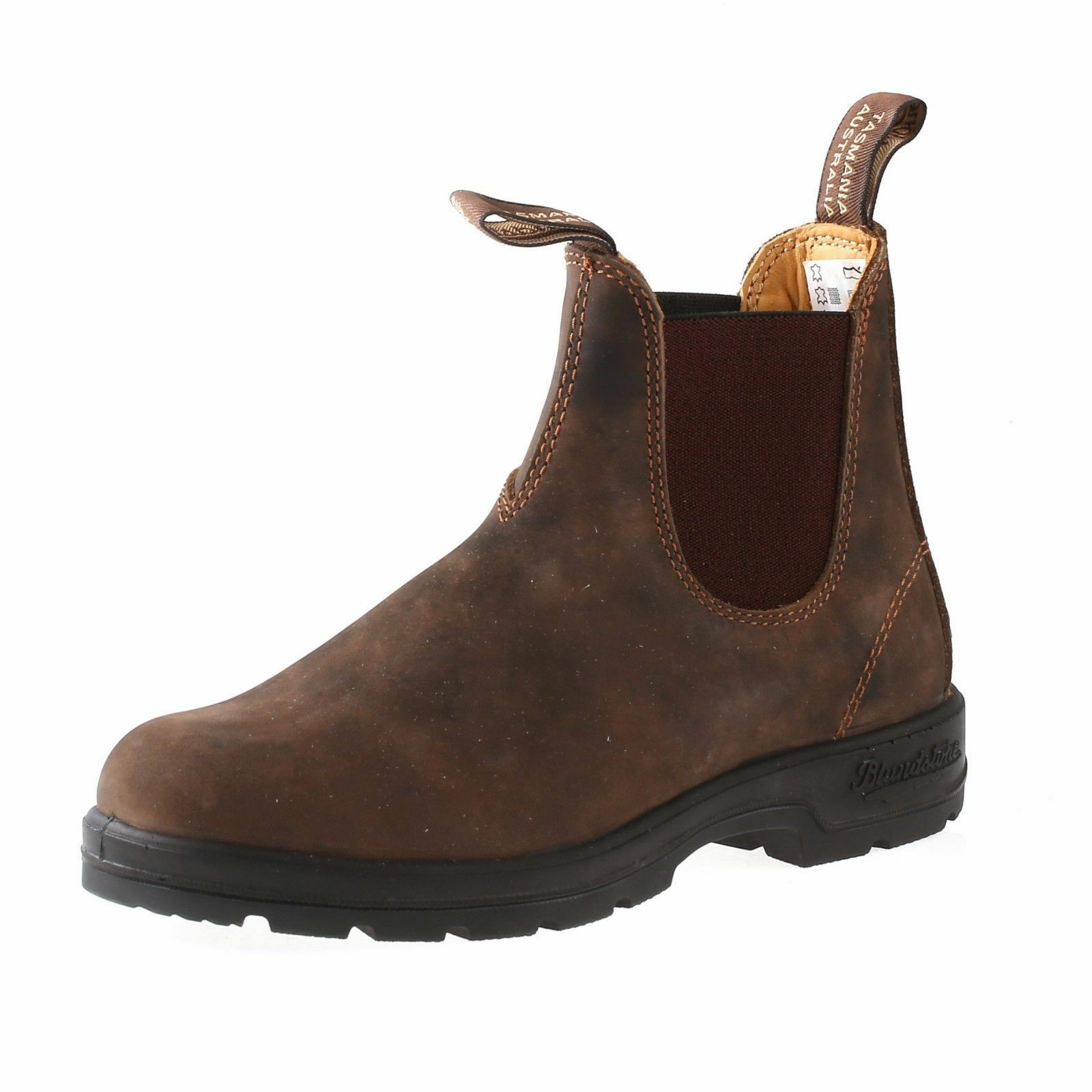 3f1962f2a5f Blundstone 585 Mens Rustic Brown Leather Classic Dealer Chelsea BOOTS US 9