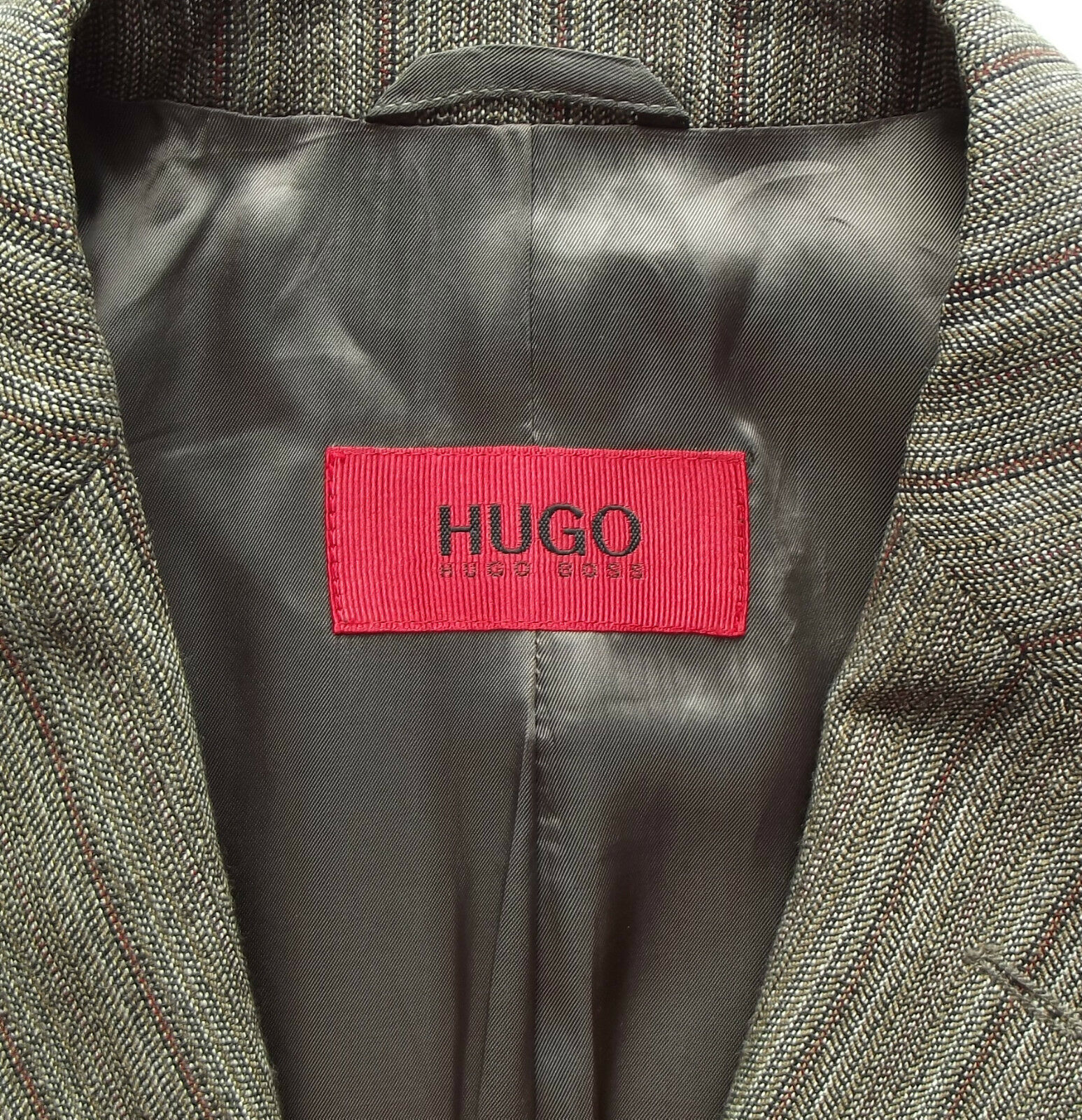 HUGO BOSS Anzug Gr. 94 94 94 Schurwolle + Seide Achtino Hason Braun Beige NP     Helle Farben    Zart    Für Ihre Wahl  55d9c2